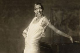 Josephine Baker in 1925 in Hamburg, Germany