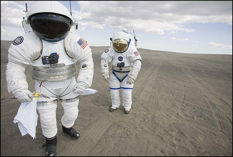 Space Suit Prototypes