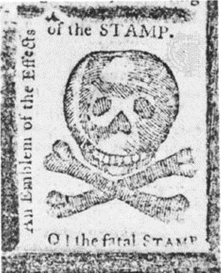 Stamp Act Large A Colonial Protest Against The
