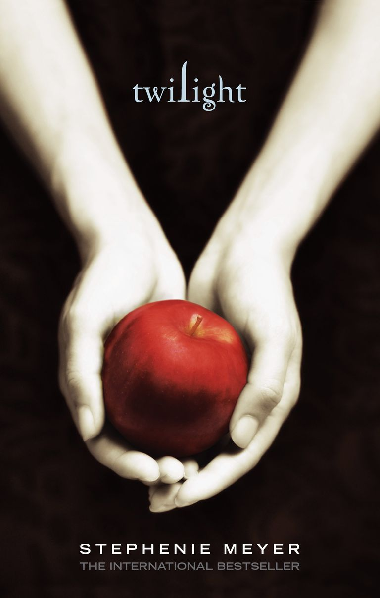 The book cover for Twilight