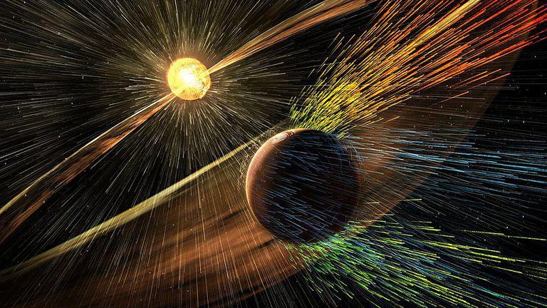 Mars atmospheric loss