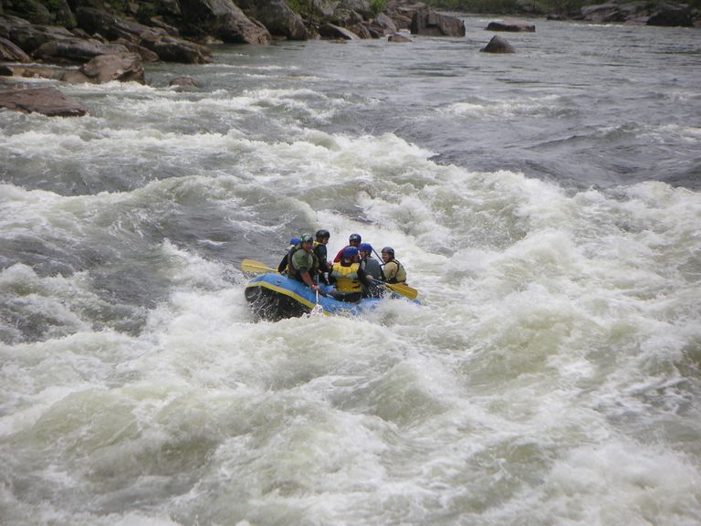 Cheat Canyon Whitewater Rafting