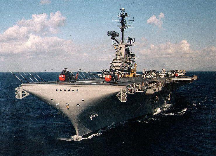 USS Yorktown (CV-10), early 1960s