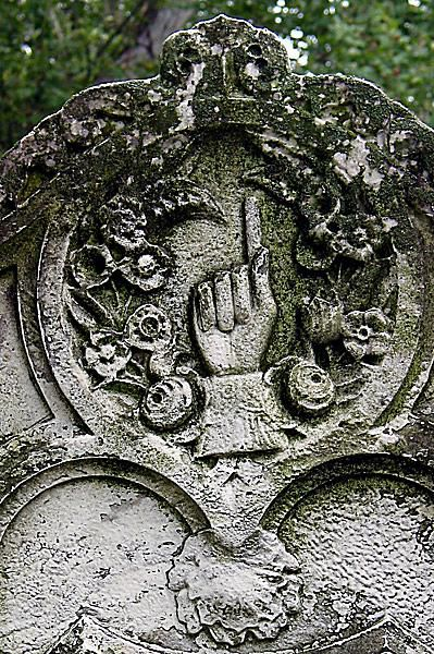 Cemetery Symbolism Clasped Hands And Pointing Fingers