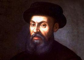 Ferdinand Magellan color portrait.