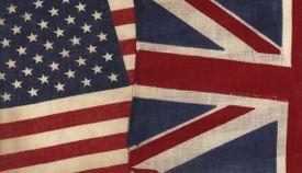 UK and USA Flags