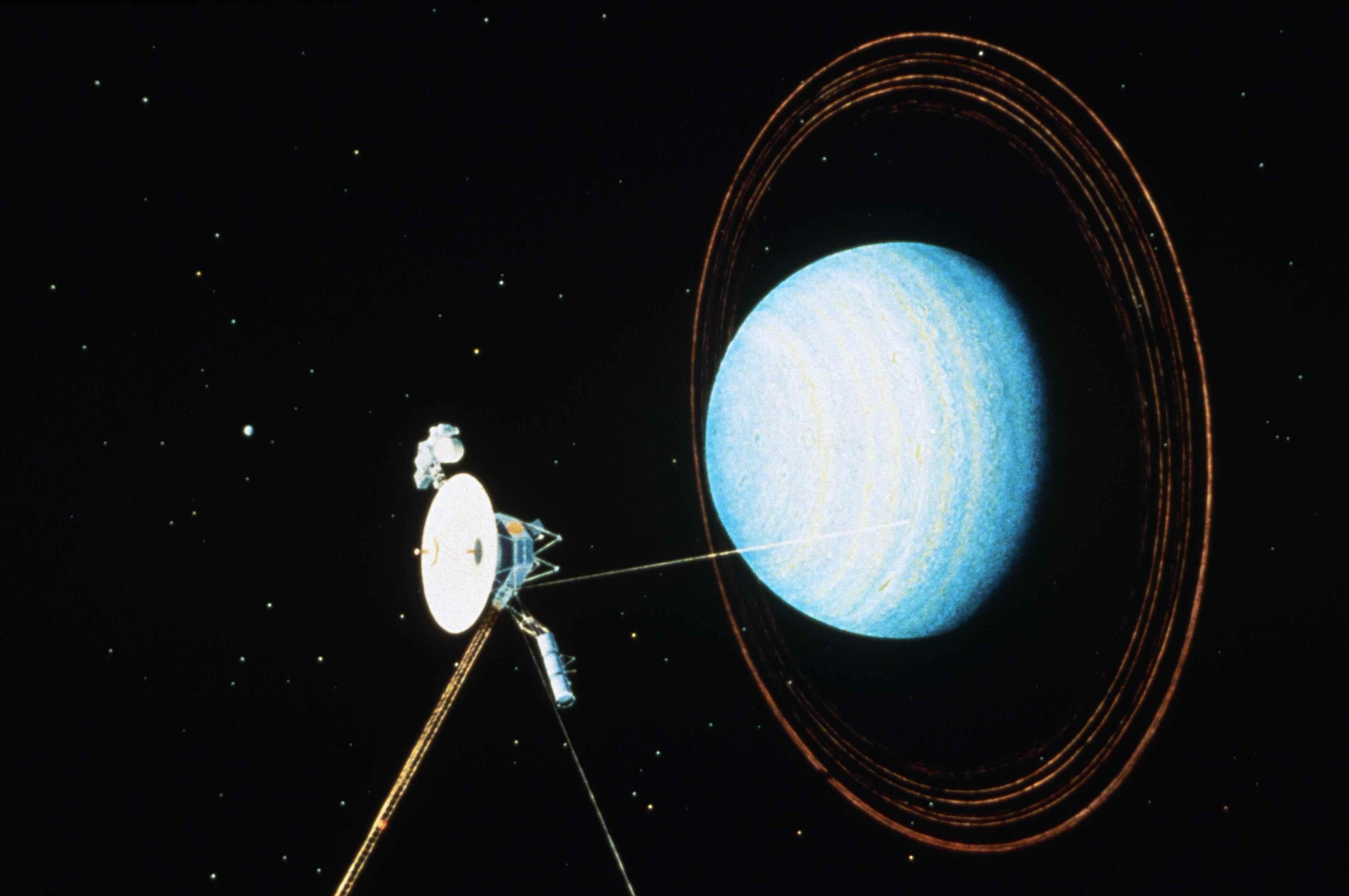 Artist rendering of Uranus Fly-by