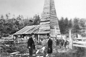 Edwin Drake's first oil well