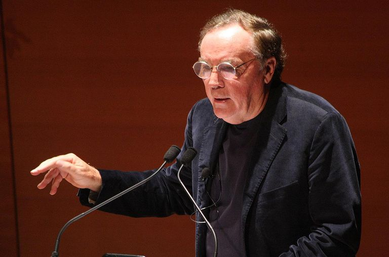 Author James Patterson speaks at Alice Tully Hall, Lincoln Center on May 25, 2011 in New York City.