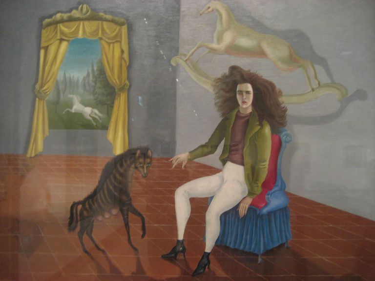 Leonora Carrington's Surrealist self-portrait