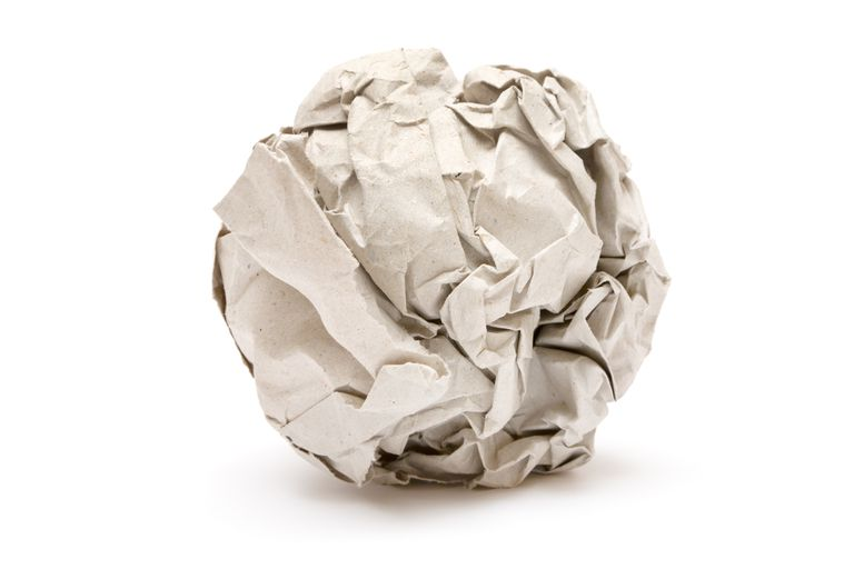 Gray Paper Ball