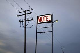 Motel Sign, Saskatchewan