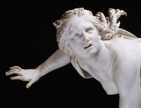 Statue Detail Showing Persephone from The Rape of Persephone by Gian Lorenzo Bernini