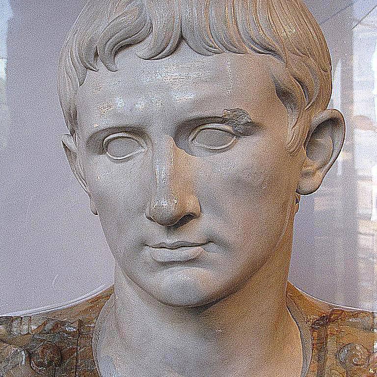 Prima Porta Augustus at Colosseum