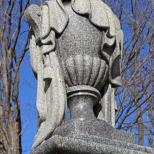 draped urn cemetery tombstone symbols
