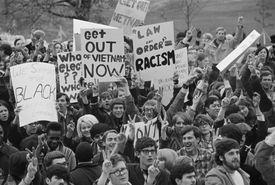 Student Anti-Vietnam Rally, 1968
