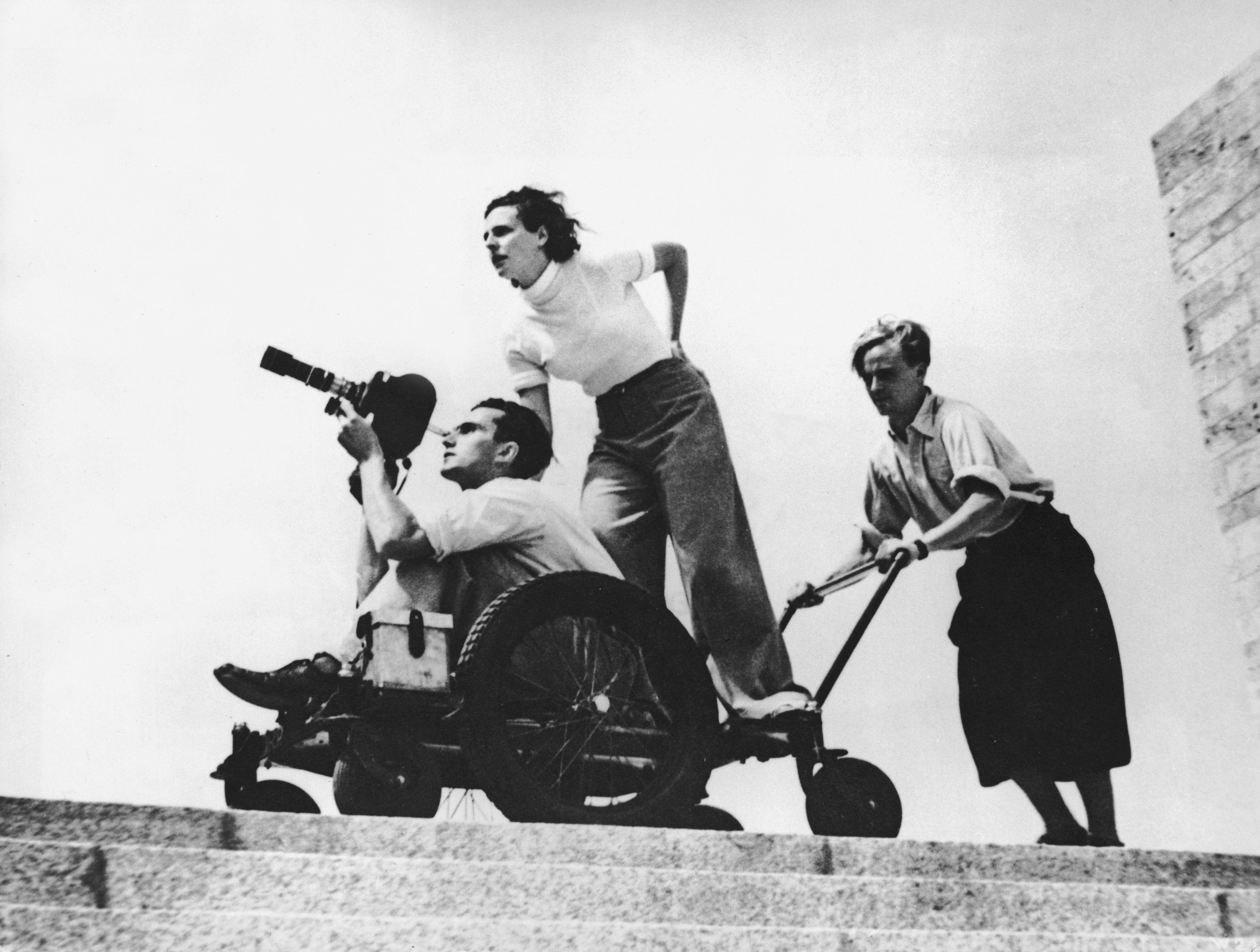Leni Riefenstahl in 1936