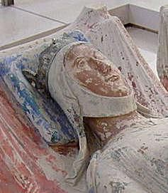 Effigy of Eleanor of Aquitaine, tomb at Fontevraud