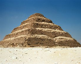 Saqqara step pyramid of Djoser