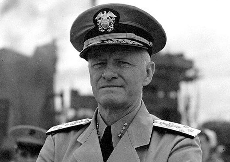 Chester W. Nimitz during World War II