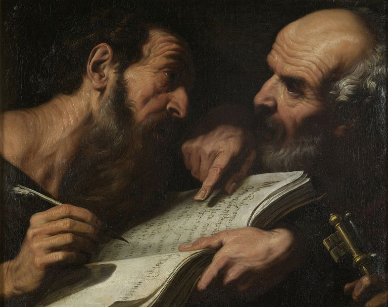 dialogue between Saints Peter and Paul