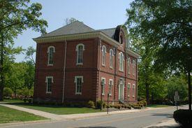 Randolph-Macon College campus.