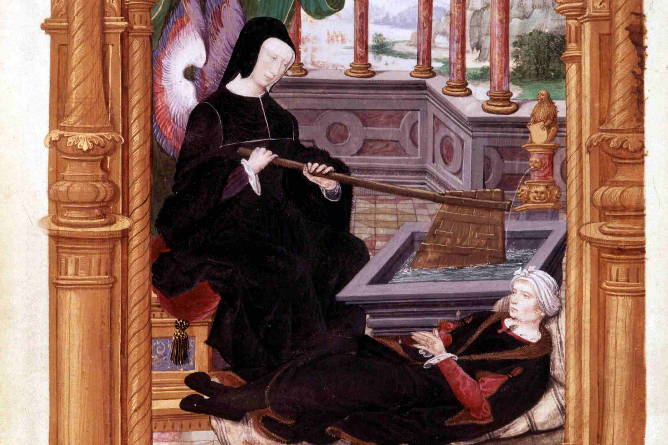 Louise of Savoy, depicted with her firm hand on the tiller of the Kingdom of France