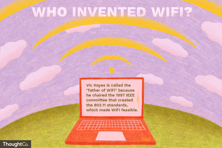 Who Created WiFi, the Wireless Internet Connection?