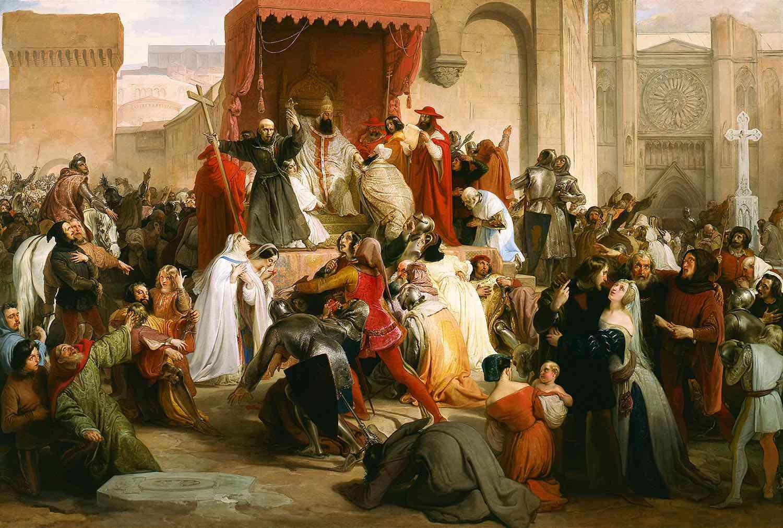 Pope Urban II Preaching