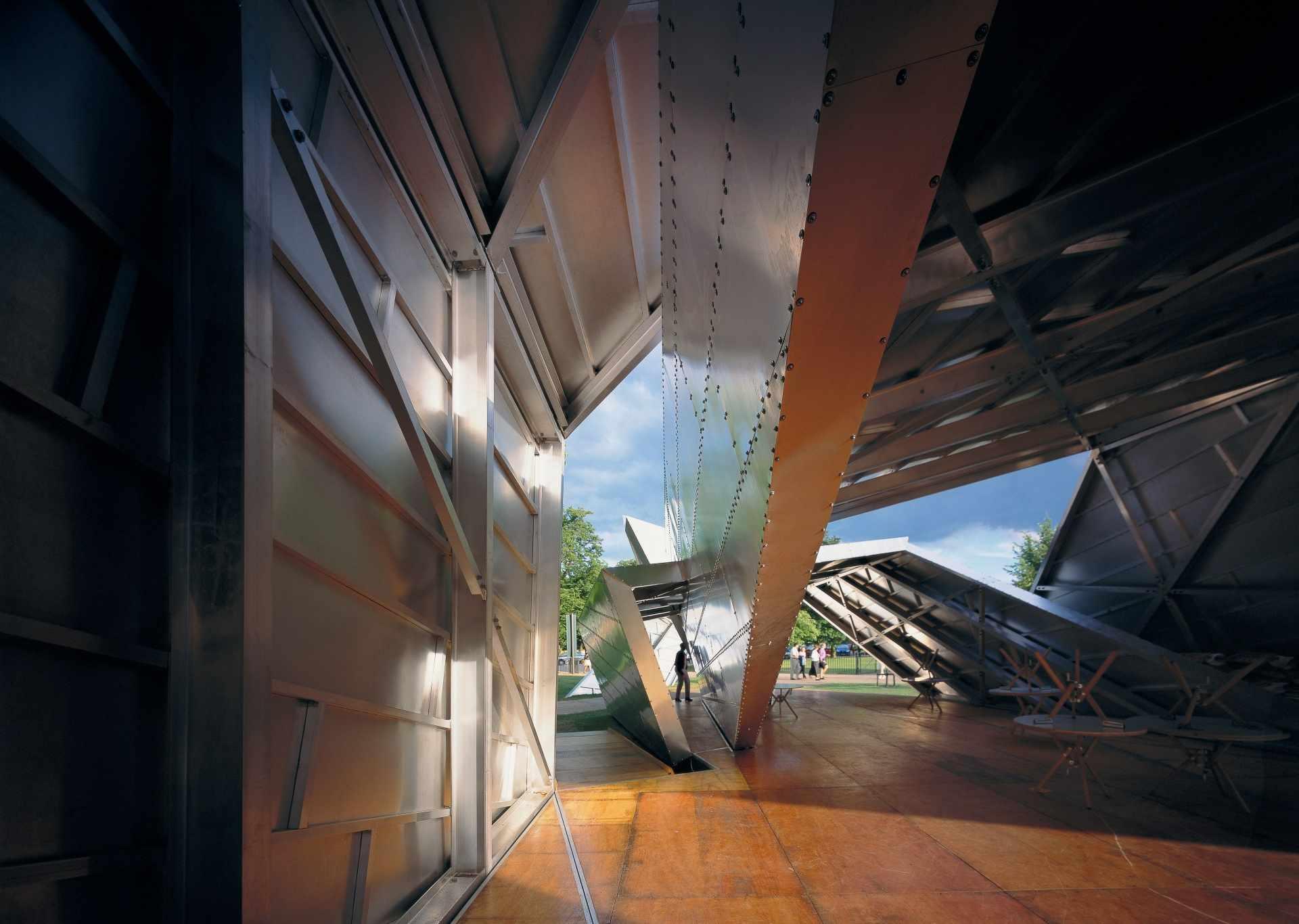 Serpentine Gallery 2001 by Daniel Libeskind