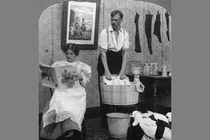 depiction of gender role reversal
