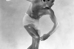 Actor and Olympic Swimmer Johnny Weissmuller