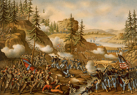 Fighting at Chattanooga