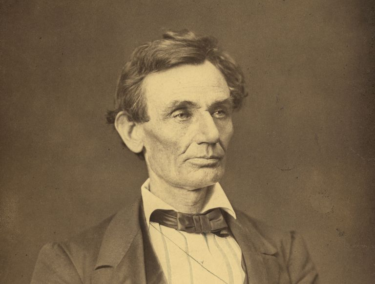 Portrait of Abraham Lincoln in summer of 1860