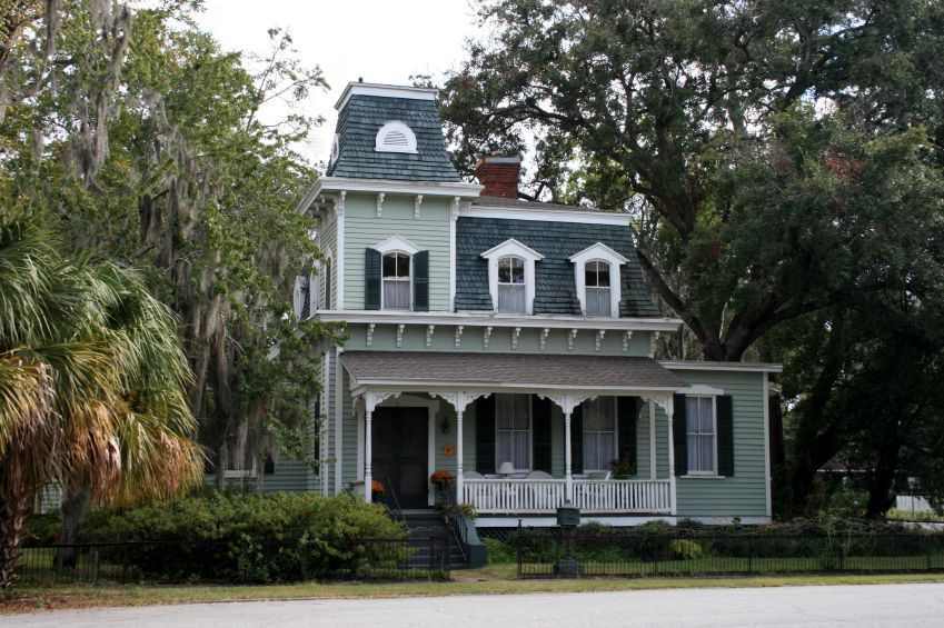 Second Empire Style Home In Georgia Constructed Between 1875 And 1884