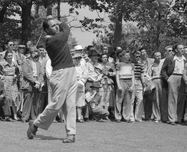 Golfer Claude Harmon Sr.