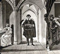 The Curtain Scene from 'Hamlet'
