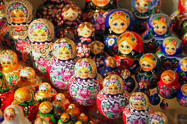 Matryoshka Doll from Russia