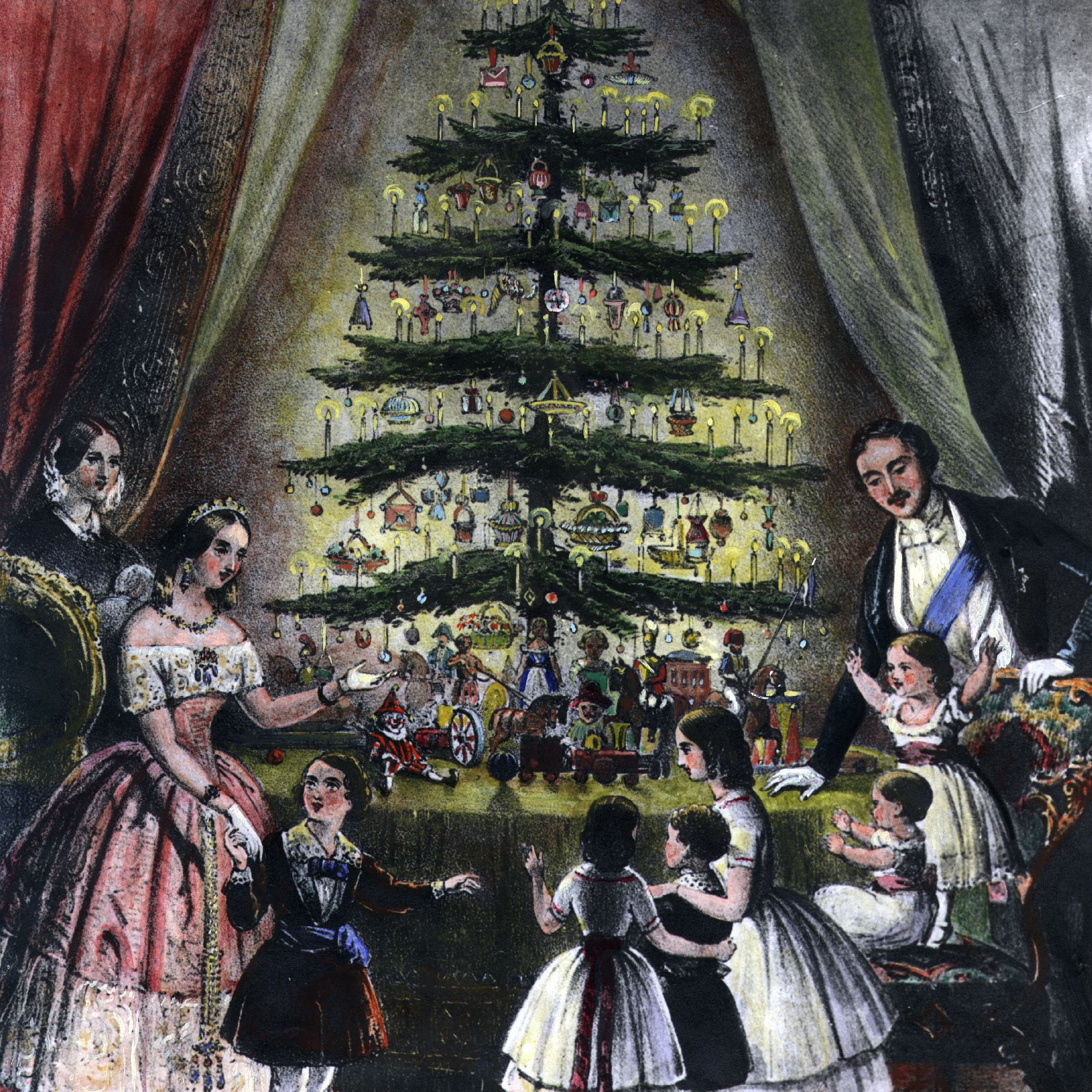 Christmas Tree Orgin: History Of Christmas Traditions In The 19th Century