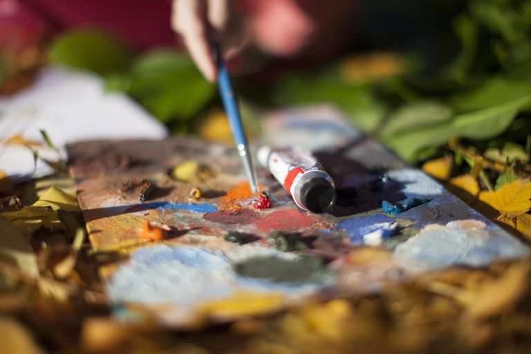 Glossary Of Art Terms And Definitions Painting Mediums