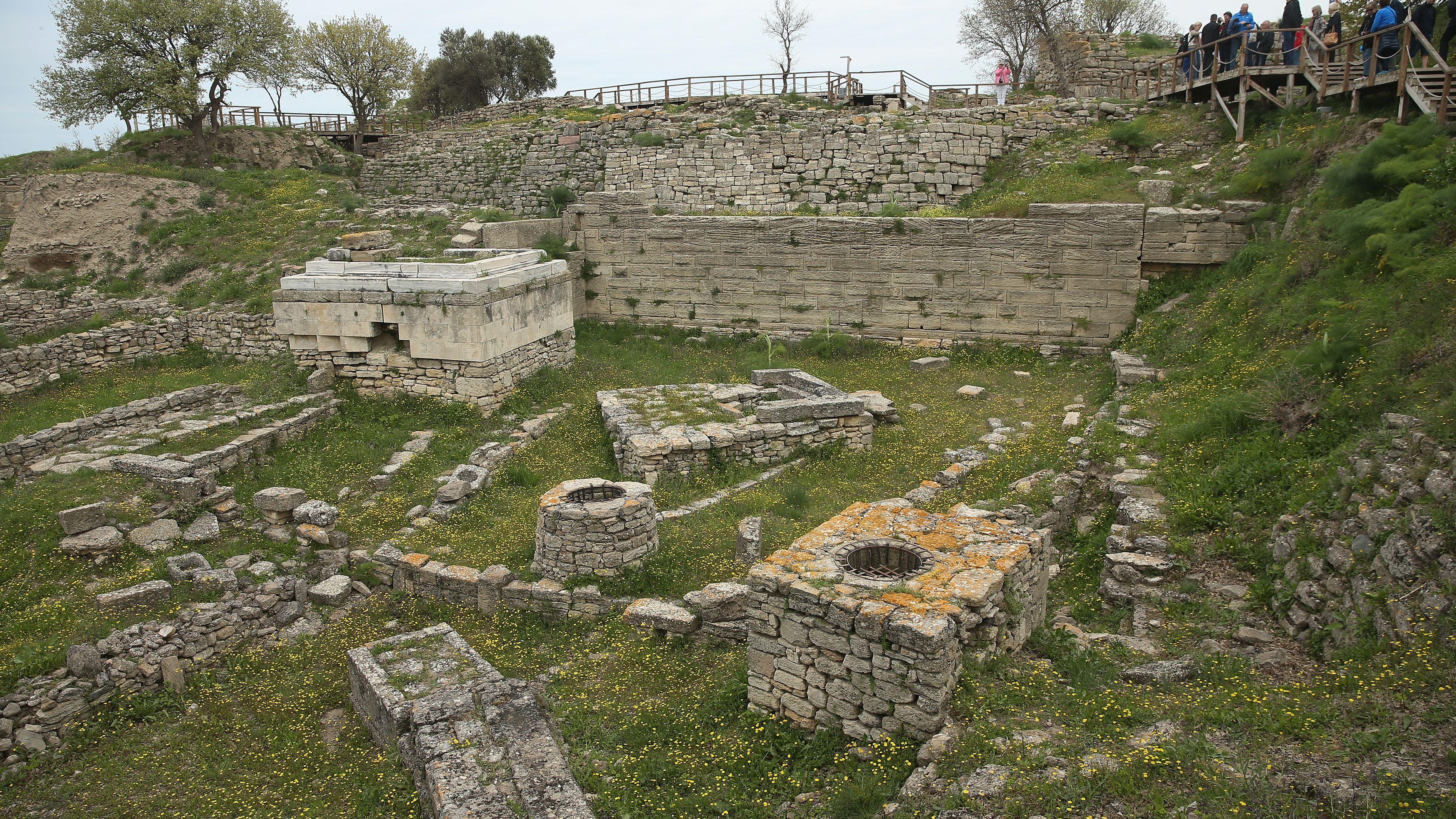 Hisarlik, Scientific Excavations at Ancient Troy