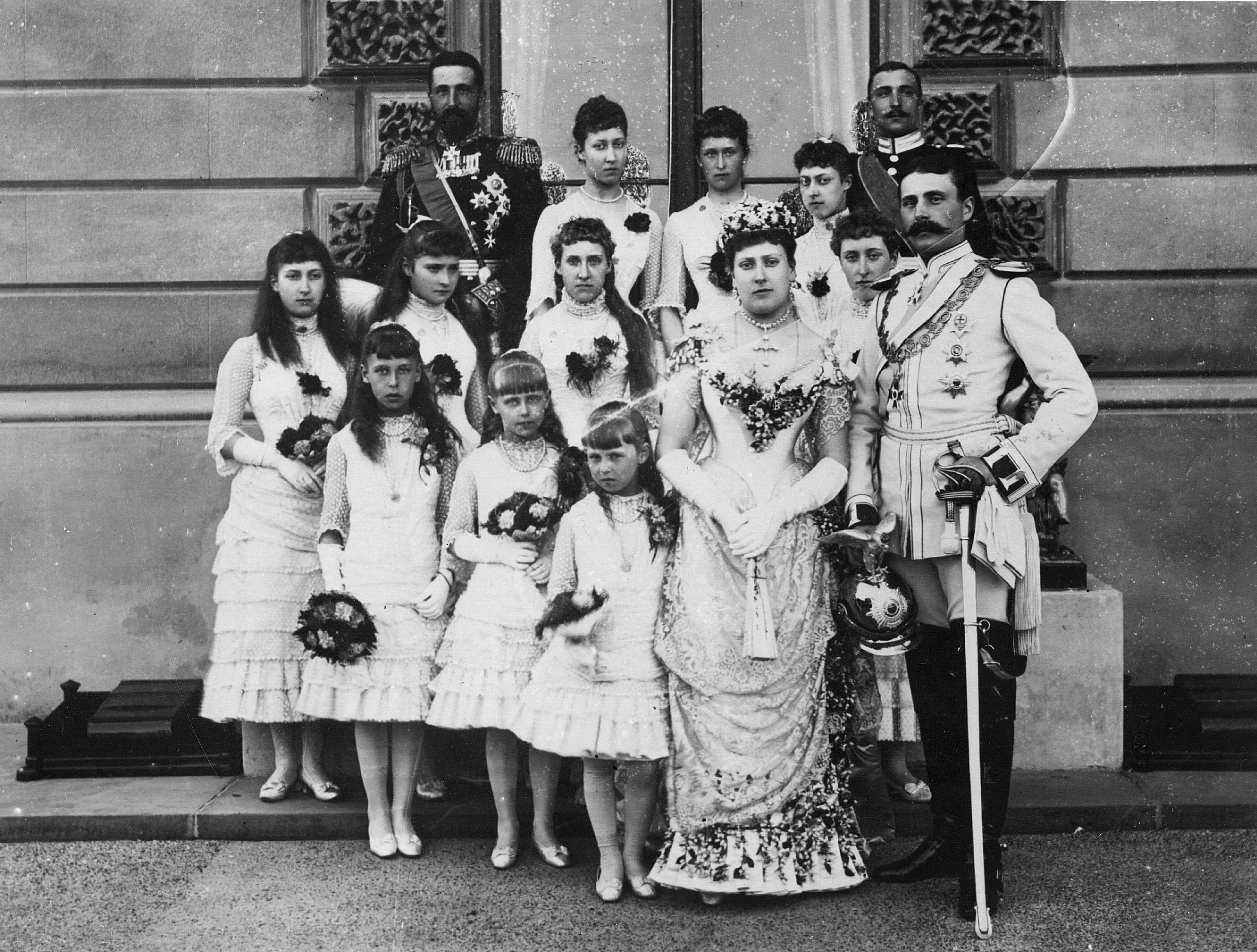 ビクトリア女王の末娘であるベアトリス王女は、1885年にバッテンバーグのヘンリー王子と結婚しました。