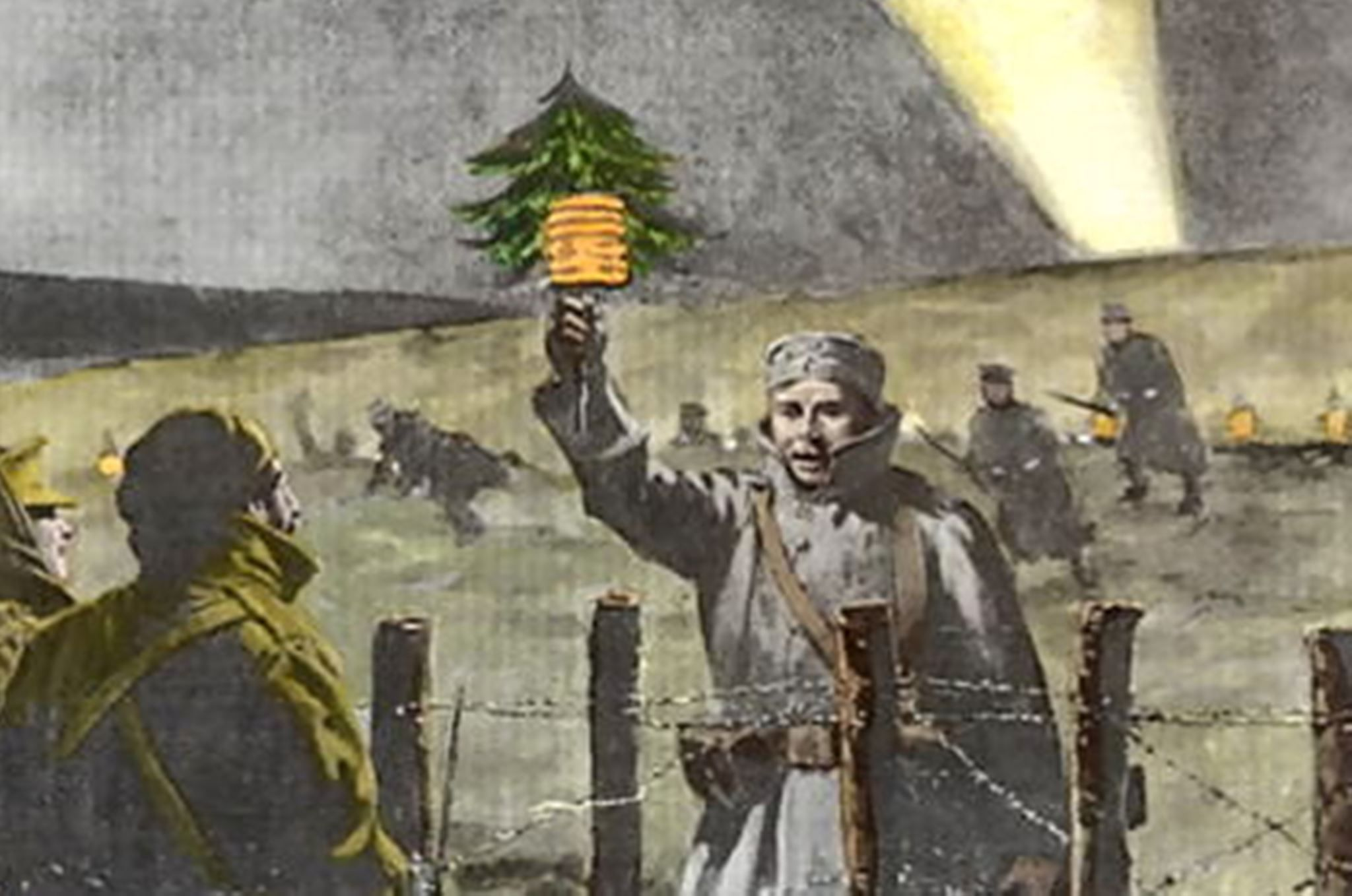 Christmas Truce of 1914 in World War I