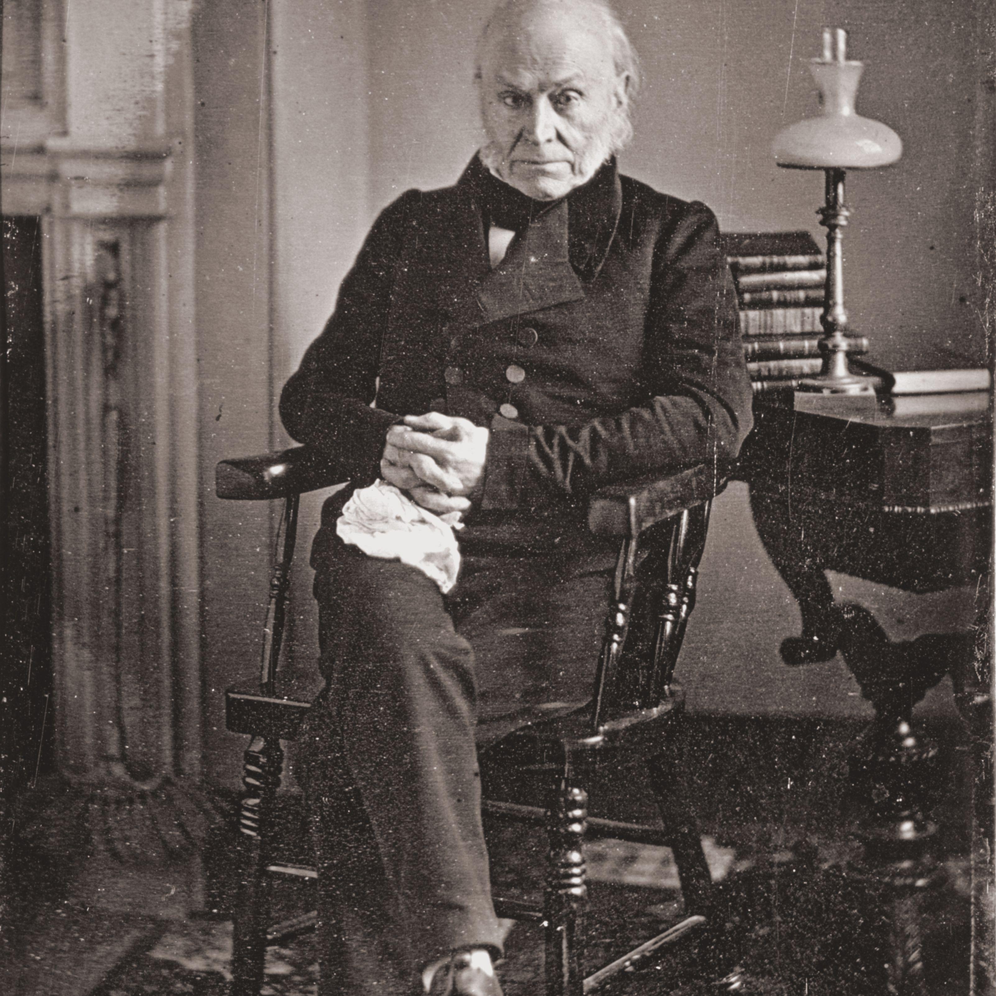 Portrait Of John Quincy Adams