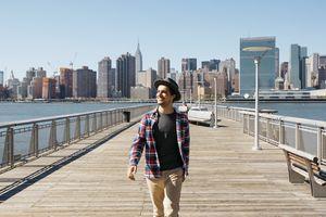Turista en Nueva York