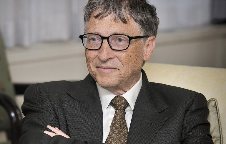 Bill Gates full color photograph.