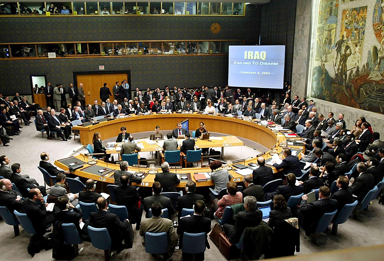 Colin Powell Address UN Security Council