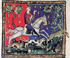 King John Stag Hunting