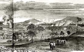 Fighting at Fisher's Hill, 1864