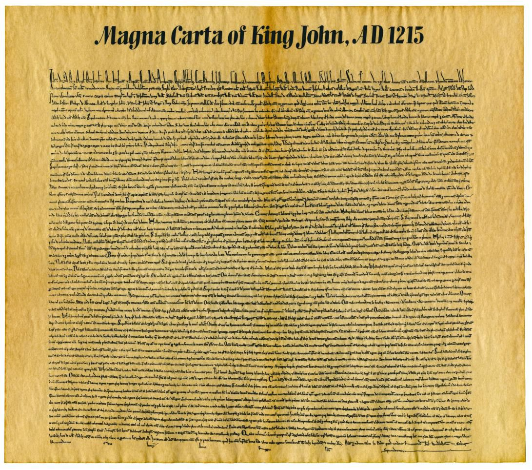 Importance Of The Magna Carta To US Constitution